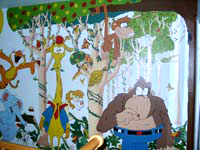 Jungle / Safari Mural